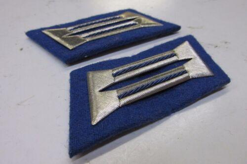 East German Transport Police Polizei TRAPO Non-Officer Dress Uniform Collar Tabs