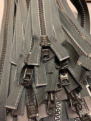 24 inch Black Vislon #10V YKK Heavy Duty Separating Zipper New!