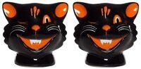 Halloween Cats Shaker Set Rockabilly Punk Sourpuss Tattoo Flash Vintage