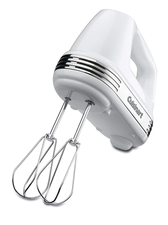 Cuisinart HM-50 Power Advantage 5-Vitesse Main Mélangeur, Blanc