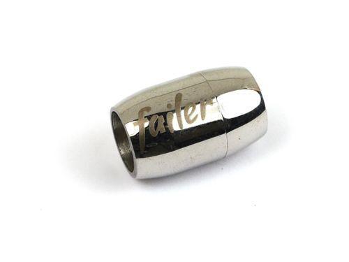 Cierre magnético de 9 mm de acero inoxidable