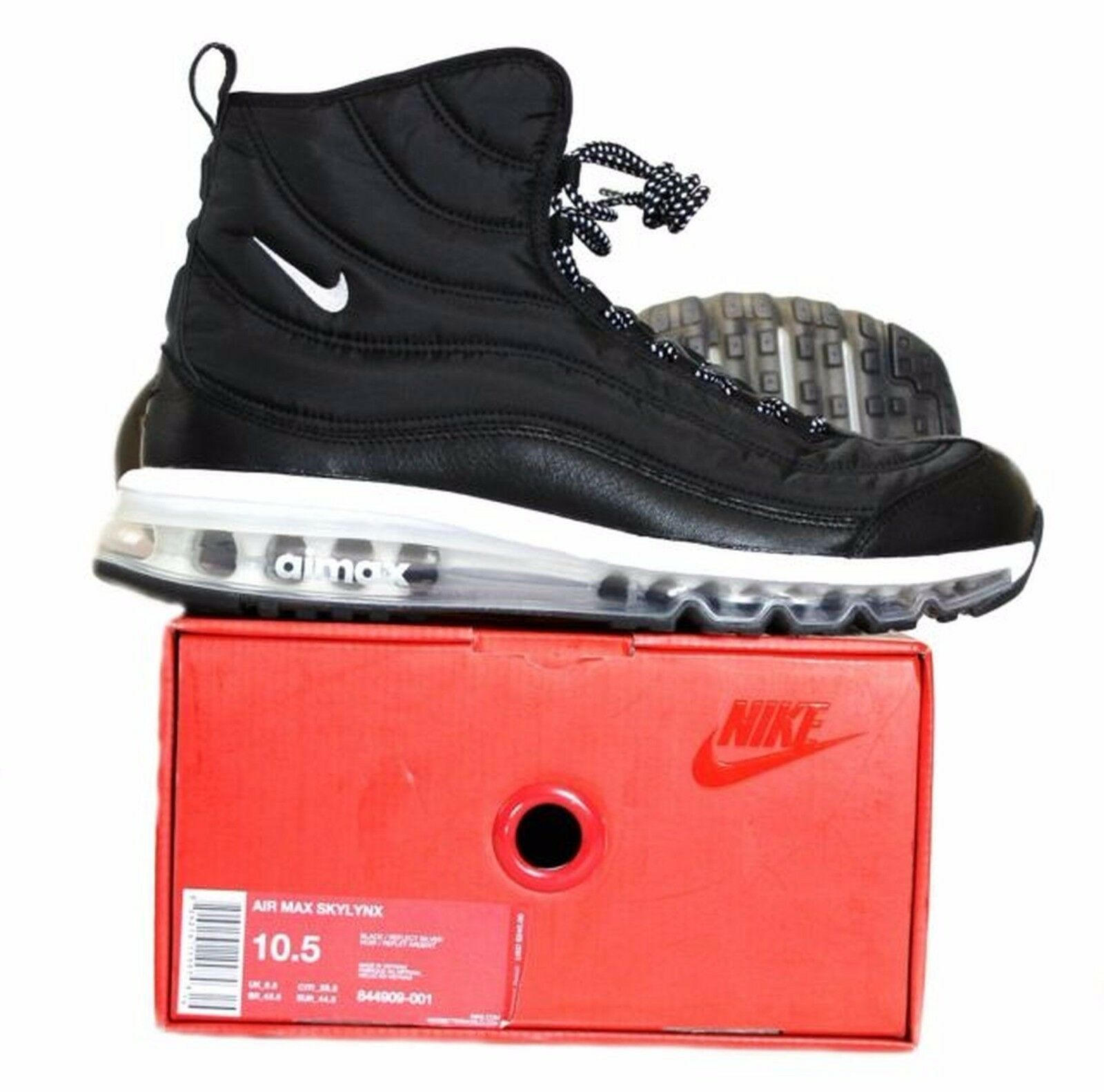 Nike Air Max Skylynx Nero/Reflect Sliver Uomo Size 10.5 844909-001 Retail  240