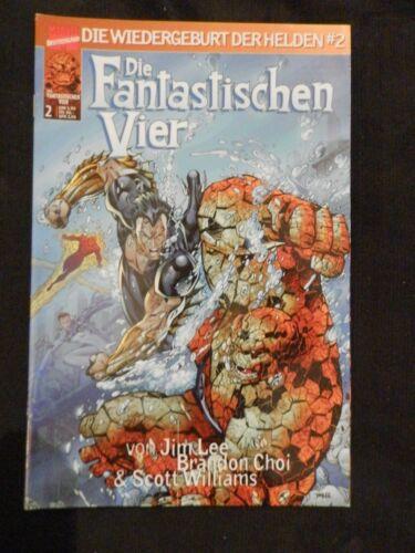 Marvel Comics Die Wiedergeburt Der Helden Die Fantastischen 4  1-9  Z0-1