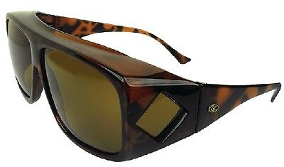 New Over-the-top Sunglasses yachter/'s Choice 45034 Brown Lens L Tortoise