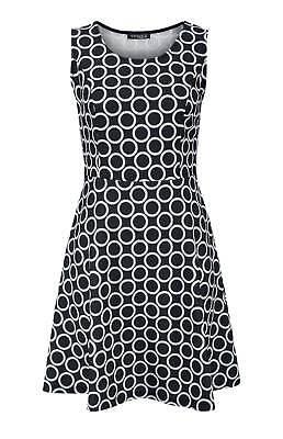 Vivance Collection Spitzen Prinzesskleid schwarz weiß Gr 36 bis 42 Etuikleid