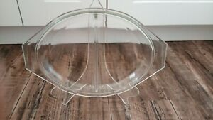 Pyrex 945 C clear glass lid for divided dishes