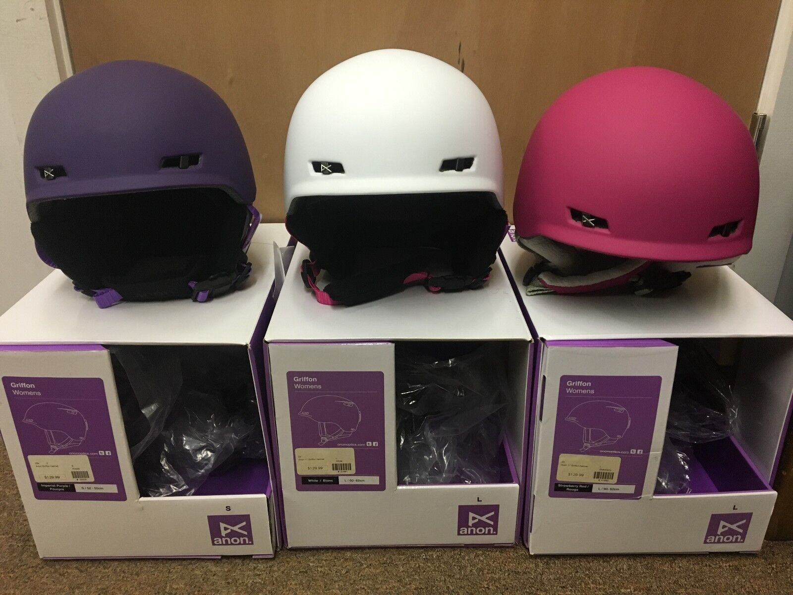 NIB Burton Anon Griffon  Women's Helmets - Multiple Sizes and colors SALE   64.99  up to 65% off