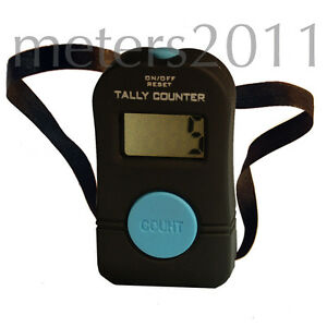 Tally-Counter-Hand-Held-Golf-Lap-Inventory-digital-Blue