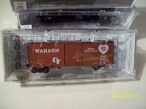 Kadee HO Scale Trains #7602 Wabash 40' PS-1 Box Car 8' Door 5306
