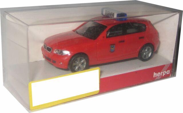 D778 Herpa BMW 1er Feuerwehr Schwerin 1:87 in OVP
