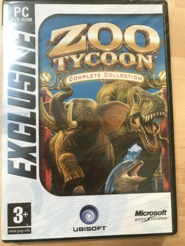 Zoo tycoon complete collection_Neuf blister origine_francais _PC