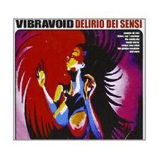 Vibravoid-delirio dei sensi CD 11 tracks psichedelica ROCK NUOVO