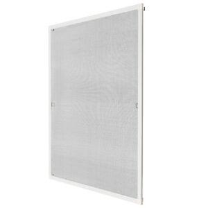 insektenschutz fliegengitter fenster alurahmen alu m ckenschutz wei 120x140cm ebay. Black Bedroom Furniture Sets. Home Design Ideas