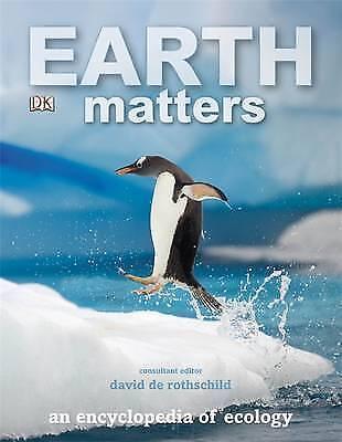 "1 of 1 - ""VERY GOOD"" David de Rothschild, Earth Matters, Book"