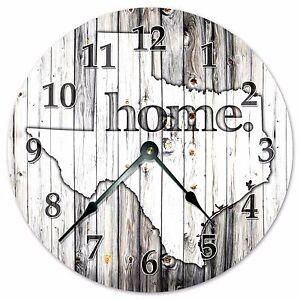 TEXAS-RUSTIC-HOME-STATE-CLOCK-Huge-15-5-inch-Clock-2253-16