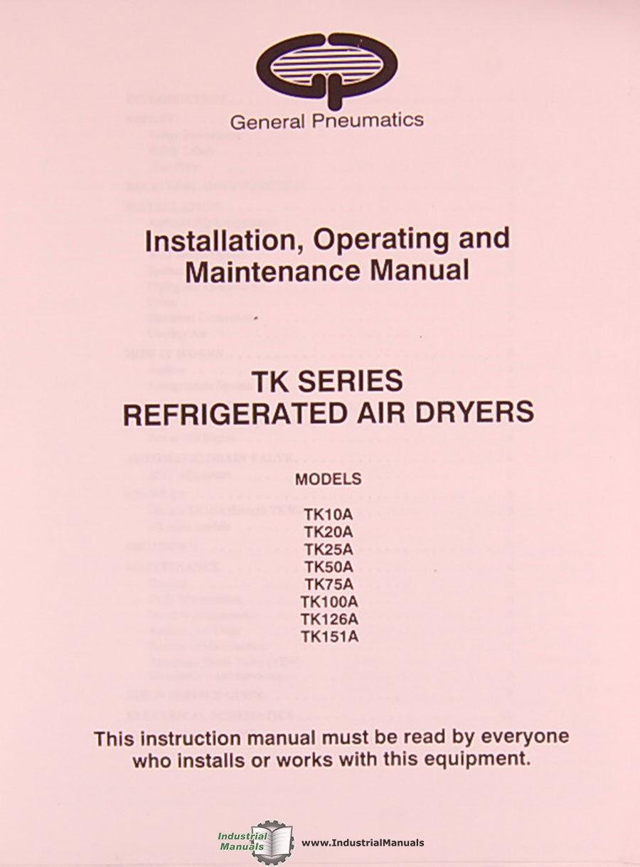 ingersoll rand desiccant air dryer maintenance manual