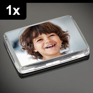 1x-maxima-calidad-acrilico-transparente-en-Blanco-Foto-Imanes-de-nevera-x-50-35