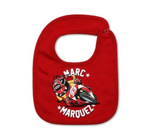 Nuovo Official Marc Marquez 93 Neonato Bavaglino Mmkbi 102707