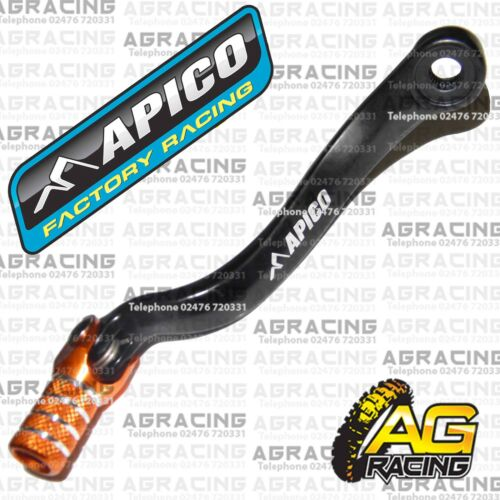 Apico Black Orange Gear Pedal Lever Shifter For KTM SX 450 2004 Motocross Enduro