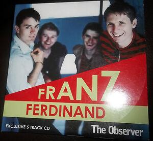 CD  FRANZ FERDINAND EXCLUSIVE 5 TRACKS  NEWPAPER PROMOTION - Cheshire, United Kingdom - CD  FRANZ FERDINAND EXCLUSIVE 5 TRACKS  NEWPAPER PROMOTION - Cheshire, United Kingdom
