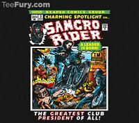 Sons Of Anarchy Soa Jax Teller Samcro Charming Motorcycle Club Mens T-shirt M-2x
