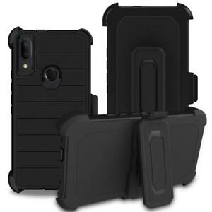 For-Samsung-Galaxy-A21-Case-Heavy-Duty-Shockproof-Cover-Belt-Clip-Fits-Otterbox