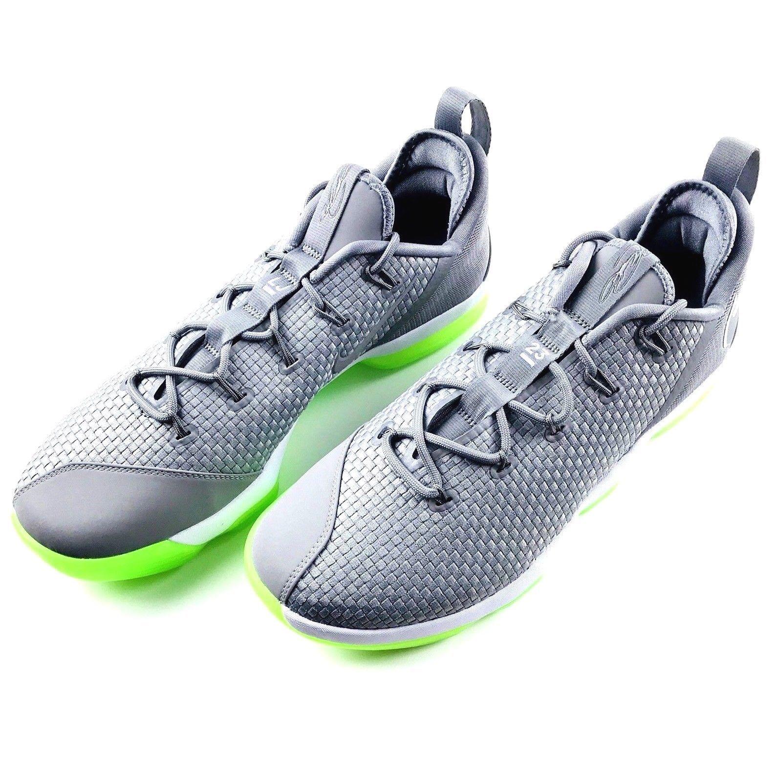 best sneakers df13f cf11b ... Nike Men Men Men LeBron XIV Low Dunkman Basketball shoes Sz 11.5 Silver  878636-005 ...