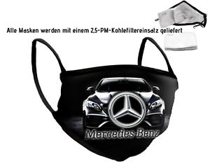 Auto Logo Emblem MercedesBenz Maske Mundschutz Maske Baumwolle Erwachsener/Kind