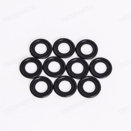 10PCS New Rubber Oil Drain Plug Gaskets Seal 3536966 for GM Saturn Chevy