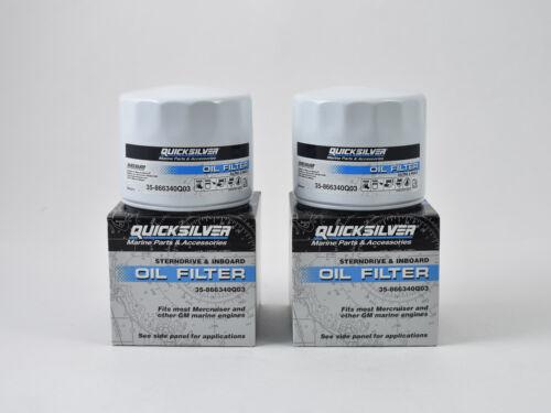 35-866340Q03... Mercury MerCruiser Quicksilver Inboard /& Sterndrive Oil Filter