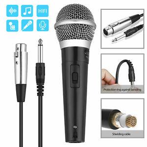 Professional-Handheld-Wired-Dynamic-Microphone-Audio-Karaoke-Singing-Vocal-Music