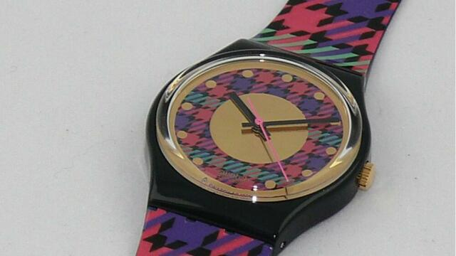Swatch-Gent: Tweed. NEU / NEW
