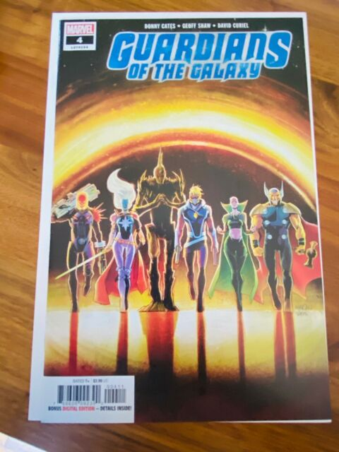 Guardians of the Galaxy #4 Cover A 1st print  Cates Marvel Comics 2019