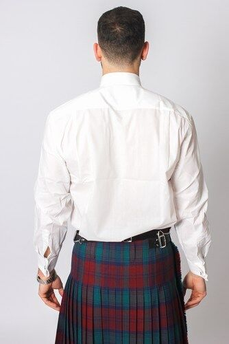 White Victorian Wing Collar Formal Men/'s Dress Shirt for weddings