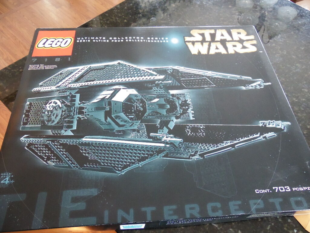 NEW Lego Star Wars UCS Tie Interceptor NEW Sealed Sealed Sealed VHTF f77afe