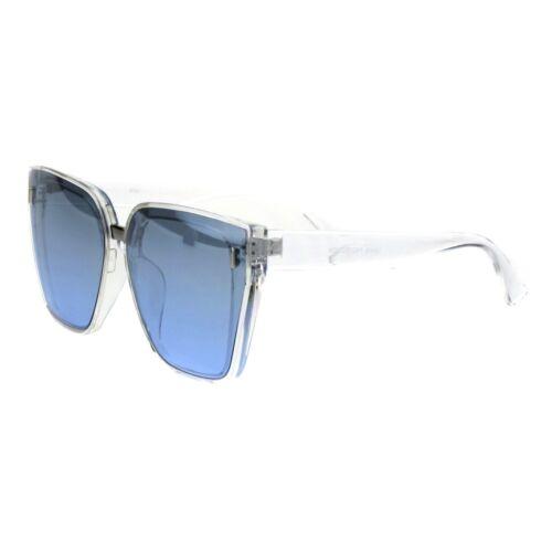 Oversized Square Frame Sunglasses Womens Trendy Retro Fashion UV 400