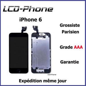 Ecran-Complet-iPhone-6-Noir-Blanc-Vitre-Tactile-LCD-Camera-Bouton-Home