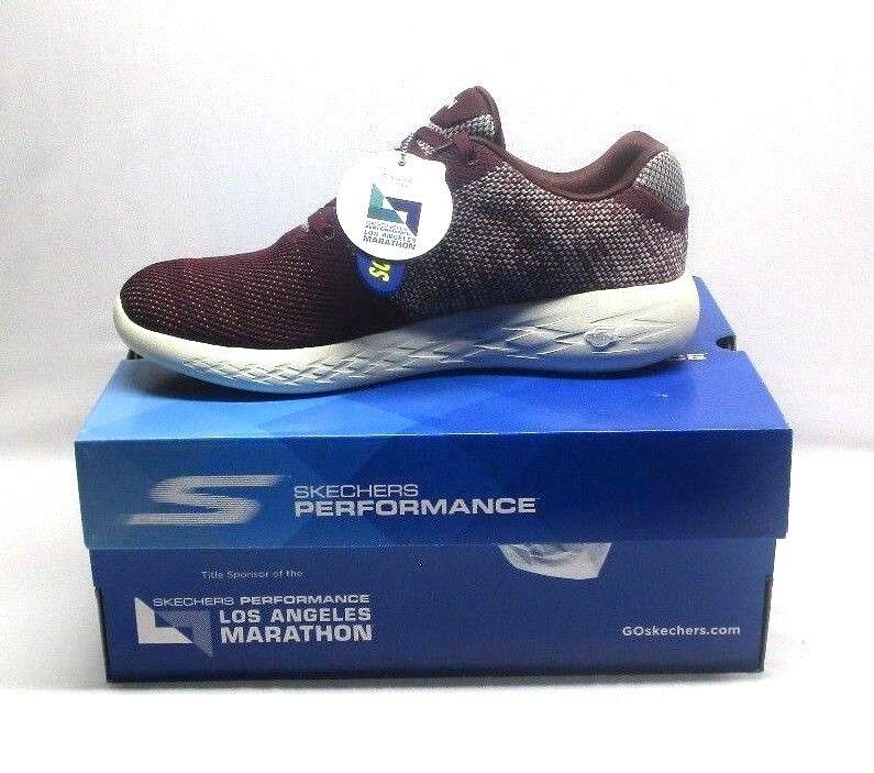 Skechers Men's Go Run 600-Arise Cross Training Shoes, Color Burgundy best-selling model of the brand