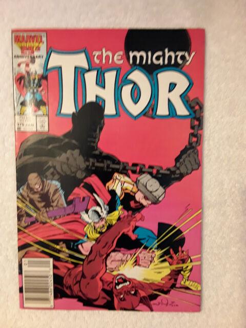 Thor #375 (Jan 1987, Marvel) Vol #1 Newsstand Fine+