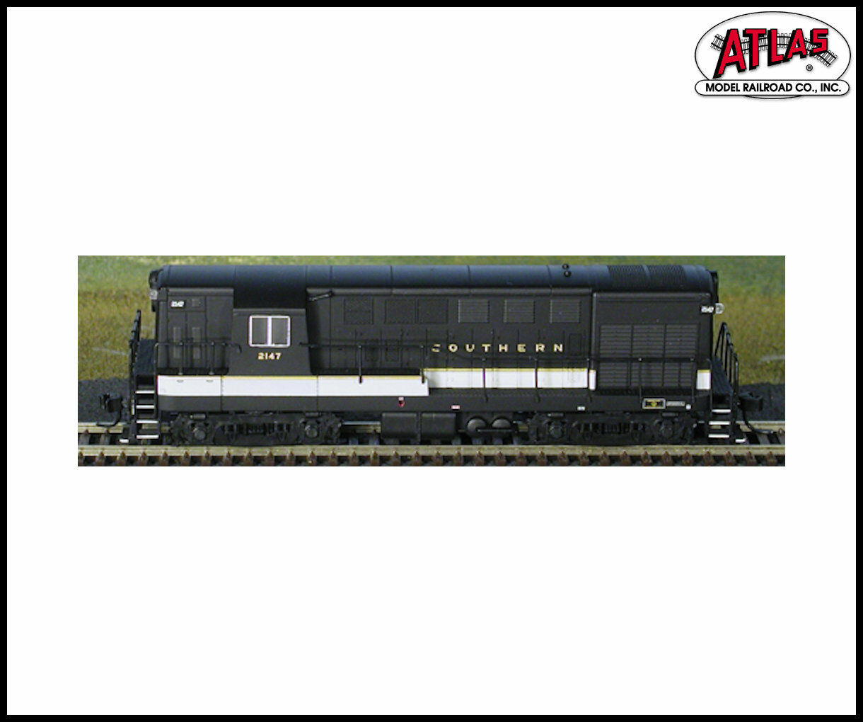 Atlas N Scale, SOUTHERN H16-44 EARLY BODY & SQUARE WINDOW -