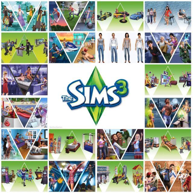 Die Sims 3 Erweiterungen Zeug Packungen Herkunft