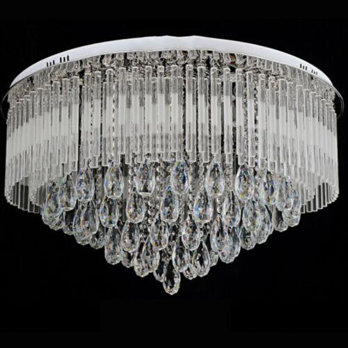 Original K9 Kristall Led Rundes Deckenbündig Kronleuchter 3-leuchten Farbe