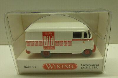 """Wiking 026501-1//87 Lieferwagen Neu Mb L 319 /""""Bild/"""""""