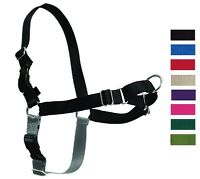 No Pull Dog Harness - Front Attachment - Discourages Pulling On Leash Adjustable