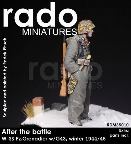 RADO MINIATURES WAFFEN SS PZ.GRENADIER W//GR43 RIFLE 35010 1:35
