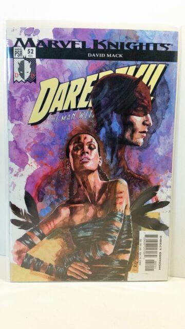 Marvel Comics Vol 2 Marvel Knights Daredevil 52 Bagged Boarded 1999-2009 FN-NM