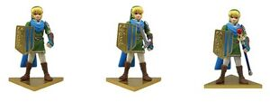 Takara The Legend of Zelda Musou Link Wii U Hyrule Warriors Figure Lana Rana
