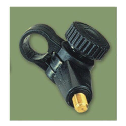 Knickgelenk Adapter mit Außengewinde und Klemm Mechanismus 19mm
