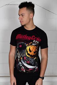 Official-Motley-Crue-Halloween-Pumpkin-Slash-Unisex-T-Shirt-Dr-Feelgood-New-Tatt