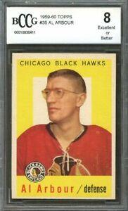 1959-60-topps-35-AL-ARBOUR-chicago-blackhawks-BGS-BCCG-8